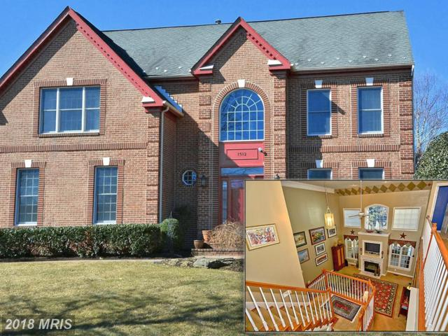 1512 White Tail Deer Court, Annapolis, MD 21409 (#AA10236391) :: The Riffle Group of Keller Williams Select Realtors