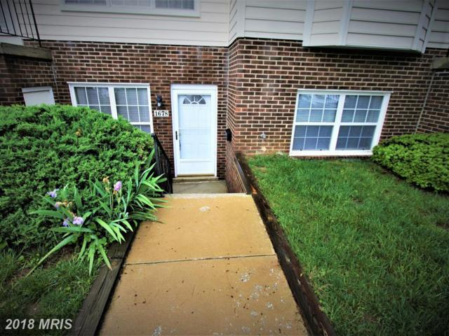 1678 Ridgely Court #1678, Crofton, MD 21114 (#AA10245902) :: The Sebeck Team of RE/MAX Preferred