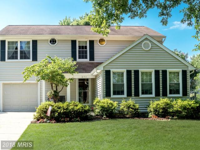 271 Yale Court, Arnold, MD 21012 (#AA10295304) :: Maryland Residential Team