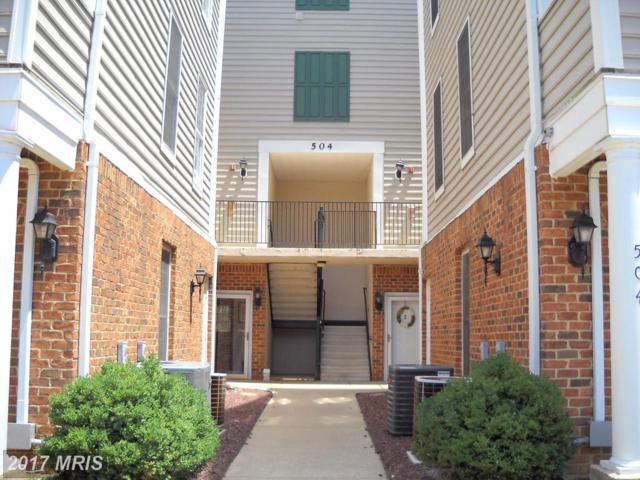 504 Mathias Hammond Way #203, Annapolis, MD 21401 (#AA9989326) :: LoCoMusings