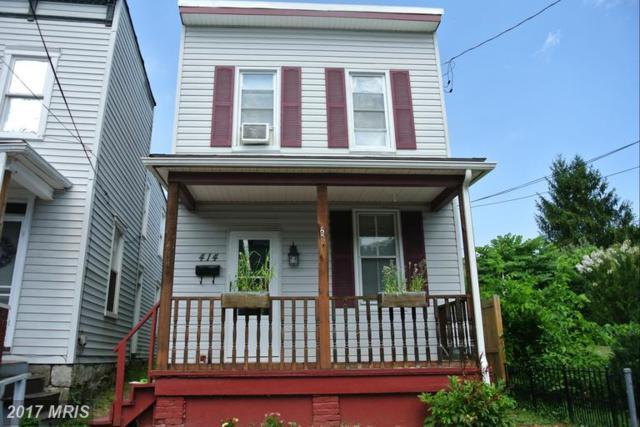 414 Furnace Street, Cumberland, MD 21502 (#AL9727277) :: LoCoMusings