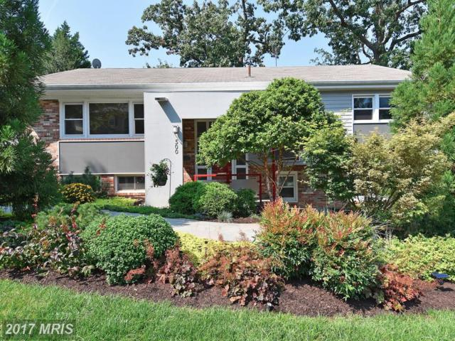 500 Lombardy Street N, Arlington, VA 22203 (#AR10050365) :: Pearson Smith Realty