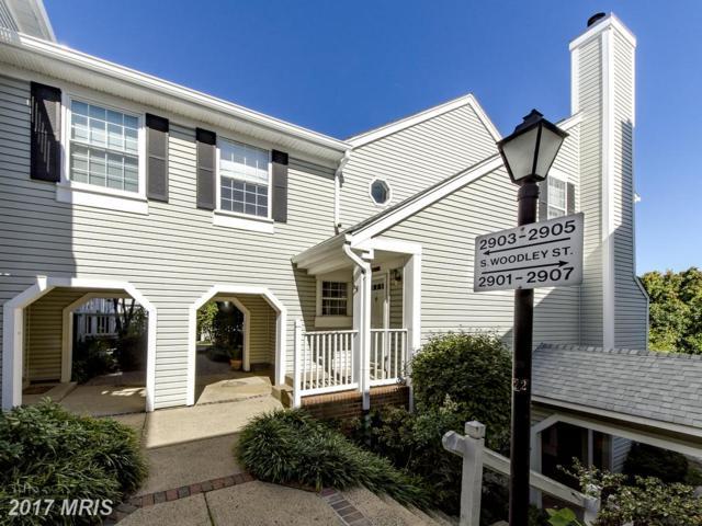 2903-E Woodley Street #5, Arlington, VA 22206 (#AR10071549) :: LoCoMusings