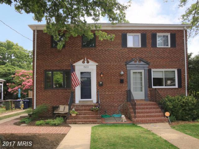 1503 Hancock Avenue, Alexandria, VA 22301 (#AX10012325) :: A-K Real Estate