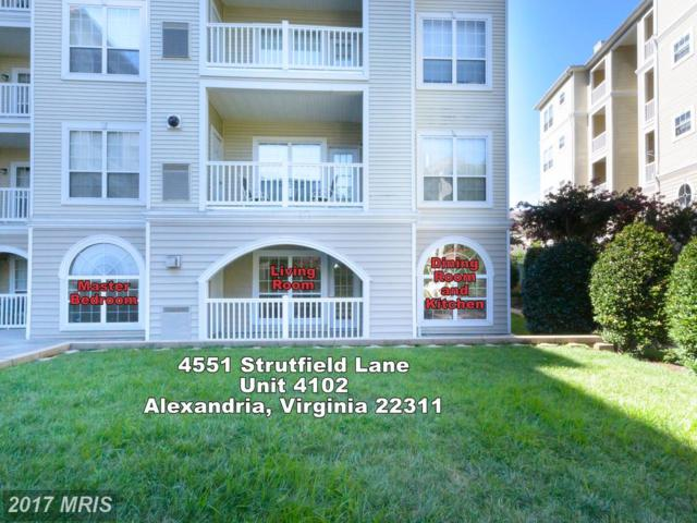4551 Strutfield Lane #4102, Alexandria, VA 22311 (#AX10015504) :: LoCoMusings