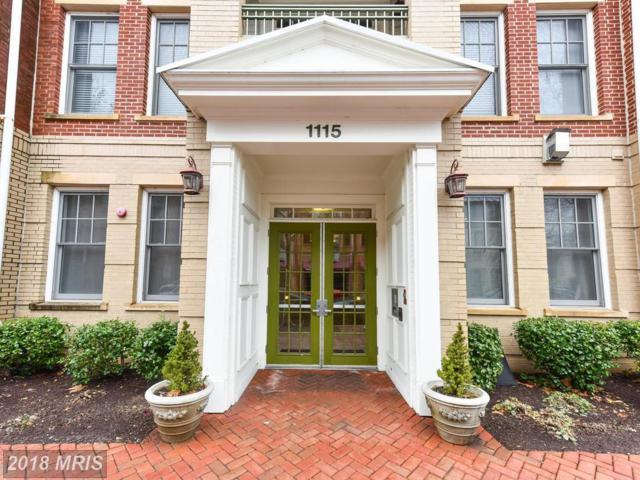 1115 Cameron Street #210, Alexandria, VA 22314 (#AX10136362) :: Bic DeCaro & Associates
