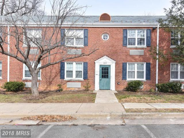 3313 Commonwealth Avenue C, Alexandria, VA 22305 (#AX10153519) :: Tom & Cindy and Associates