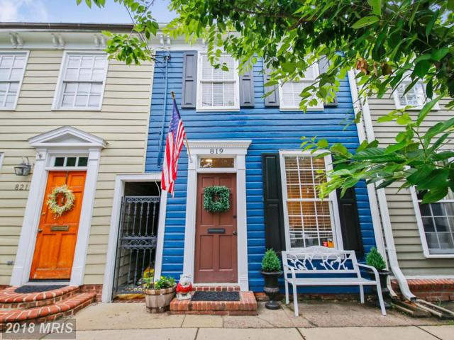819 Oronoco Street, Alexandria, VA 22314 (#AX10278630) :: The Gus Anthony Team