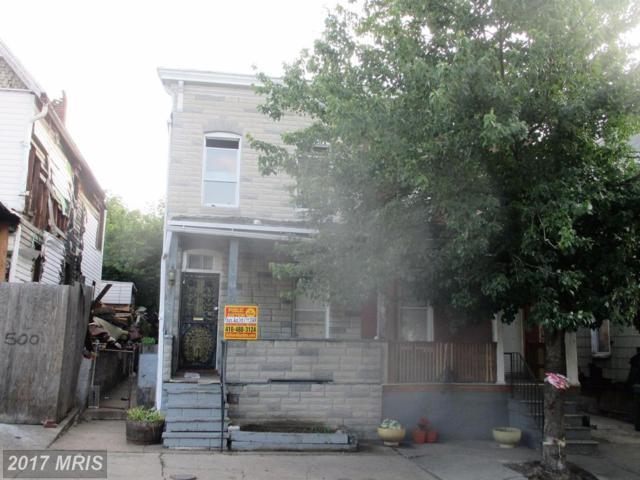 502 26TH Street E, Baltimore, MD 21218 (#BA10001361) :: Pearson Smith Realty