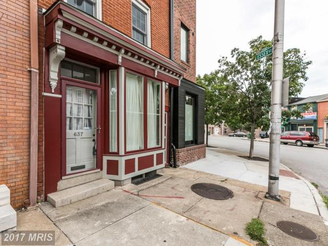 637 Patterson Park Avenue S, Baltimore, MD 21231 (#BA10005079) :: LoCoMusings