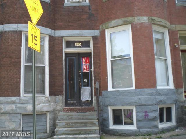 805 Newington Avenue, Baltimore, MD 21217 (#BA10011004) :: Pearson Smith Realty