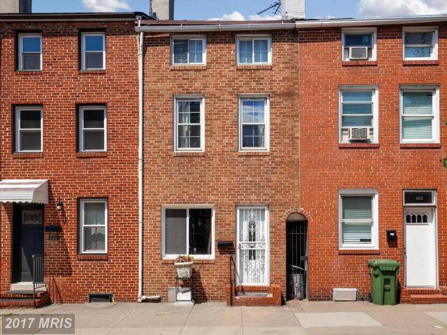 424 Eden Street S, Baltimore, MD 21231 (#BA10013671) :: LoCoMusings