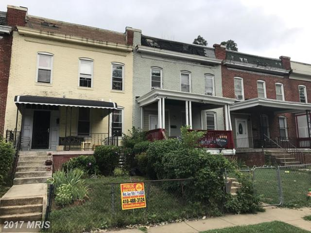 3708 Oakmont Avenue, Baltimore, MD 21215 (#BA10019301) :: Pearson Smith Realty