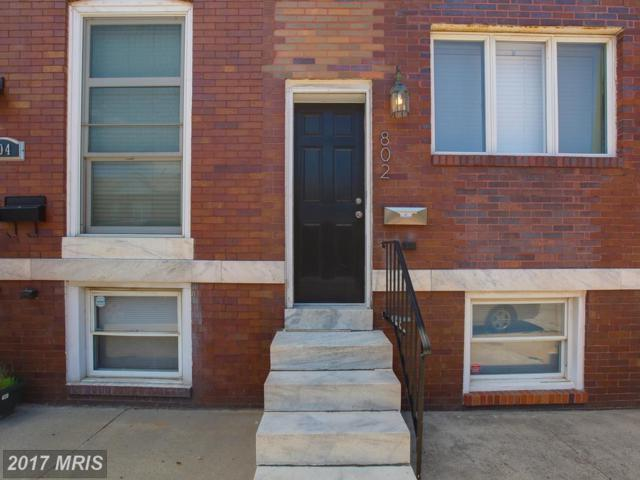802 Grundy Street, Baltimore, MD 21224 (#BA10020854) :: SURE Sales Group