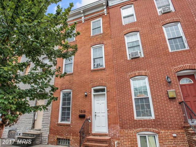 1016 Cross Street W, Baltimore, MD 21230 (#BA10028508) :: Pearson Smith Realty