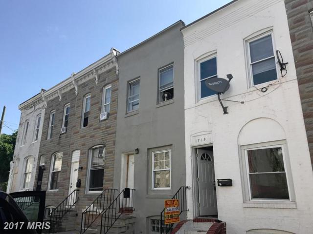 1715 Regester Street N, Baltimore, MD 21213 (#BA10031405) :: Pearson Smith Realty