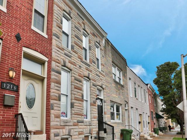 1214 James Street, Baltimore, MD 21223 (#BA10032258) :: Pearson Smith Realty
