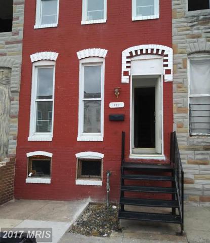 337 Smallwood Street, Baltimore, MD 21223 (#BA10033711) :: RE/MAX Advantage Realty