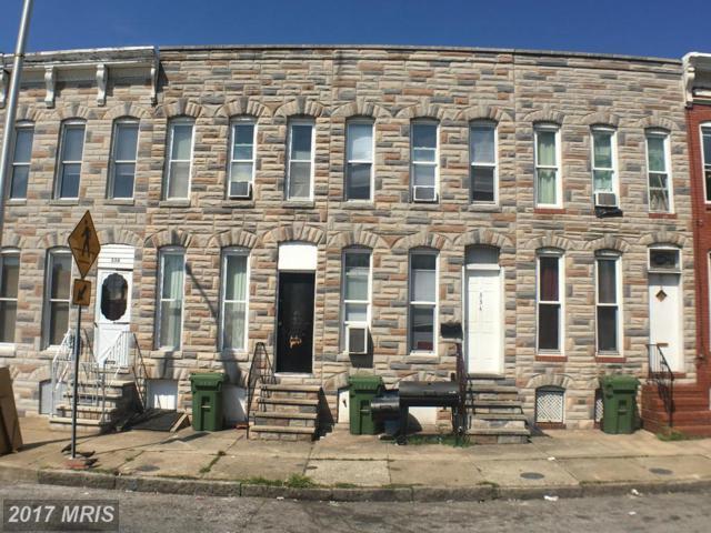 336 Mount Street S, Baltimore, MD 21223 (#BA10035380) :: Pearson Smith Realty