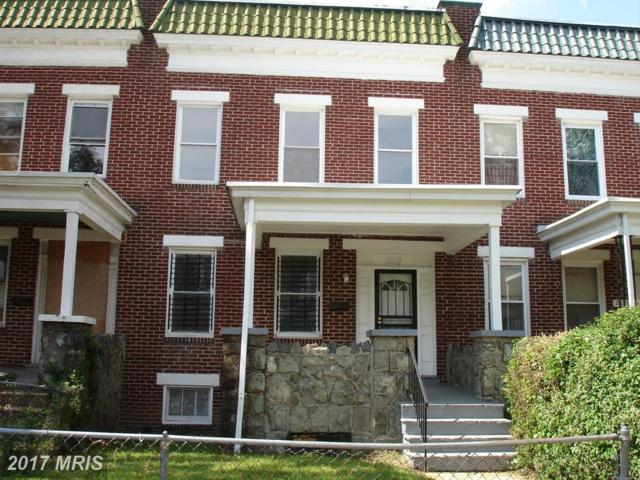 2630 Park Heights Terrace, Baltimore, MD 21215 (#BA10036324) :: The Dailey Group