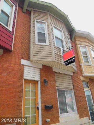 112 Ellwood Avenue S, Baltimore, MD 21224 (#BA10038347) :: The Vashist Group