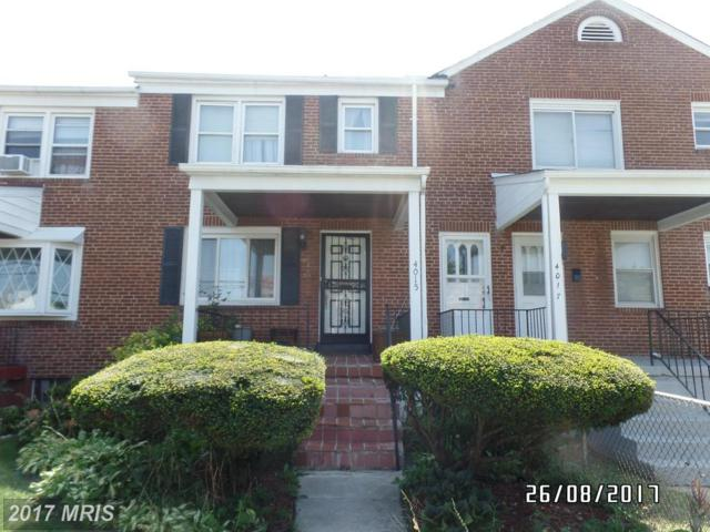 4015 Rogers Avenue, Baltimore, MD 21215 (#BA10059753) :: Pearson Smith Realty