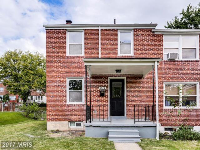 1024 Reverdy Road, Baltimore, MD 21212 (#BA10061301) :: Pearson Smith Realty