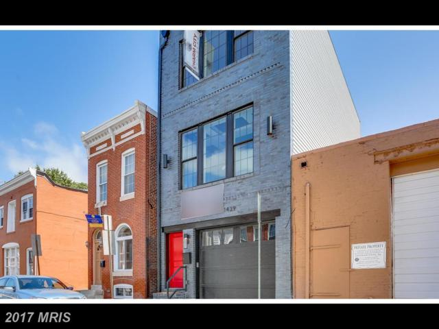 1439 Marshall Street, Baltimore, MD 21230 (#BA10062460) :: Pearson Smith Realty