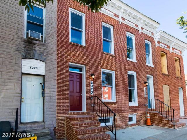 2023 Mcelderry Street, Baltimore, MD 21205 (#BA10063910) :: Keller Williams Preferred Properties
