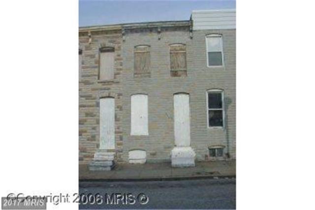 2114 Vine Street, Baltimore, MD 21223 (#BA10066310) :: LoCoMusings