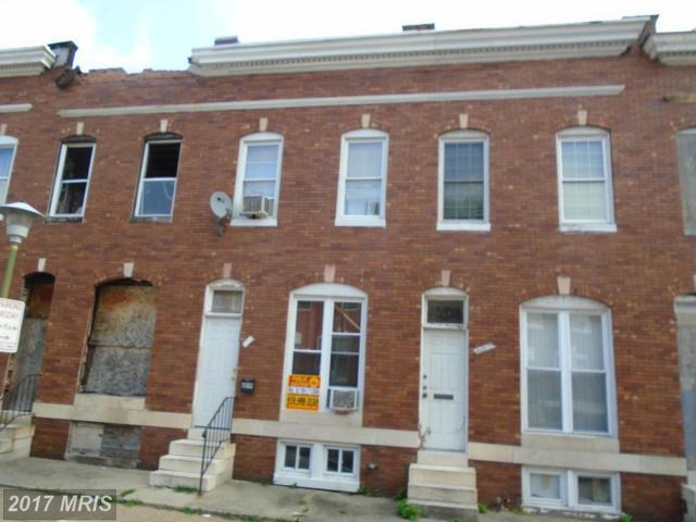 609 Dukeland Street, Baltimore, MD 21216 (#BA10069374) :: Pearson Smith Realty