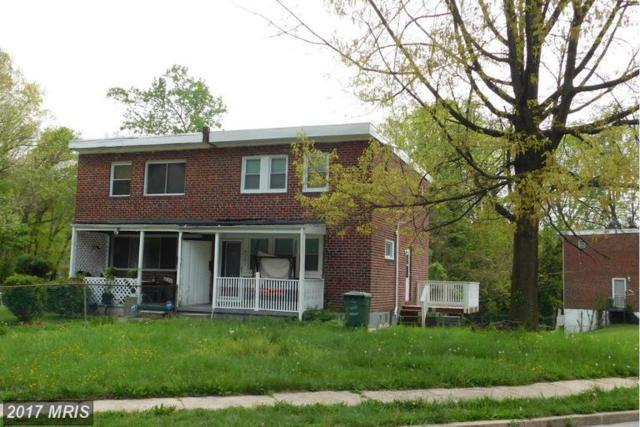 4201 Fairfax Road, Baltimore, MD 21216 (#BA10072775) :: LoCoMusings