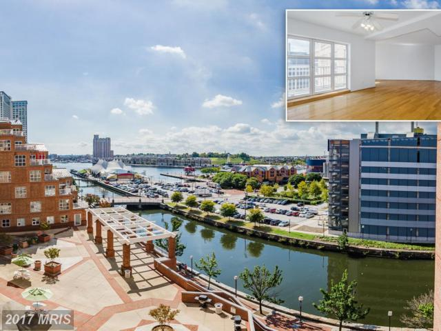 250 President Street #504, Baltimore, MD 21202 (#BA10080136) :: SURE Sales Group