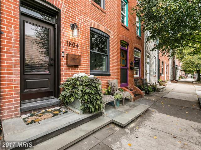 1804 Gough Street, Baltimore, MD 21231 (#BA10081074) :: LoCoMusings