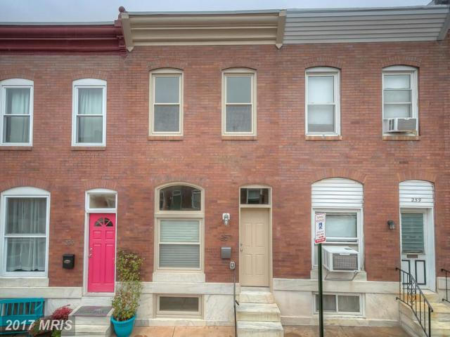 257 Robinson Street S, Baltimore, MD 21224 (#BA10081300) :: The Dailey Group