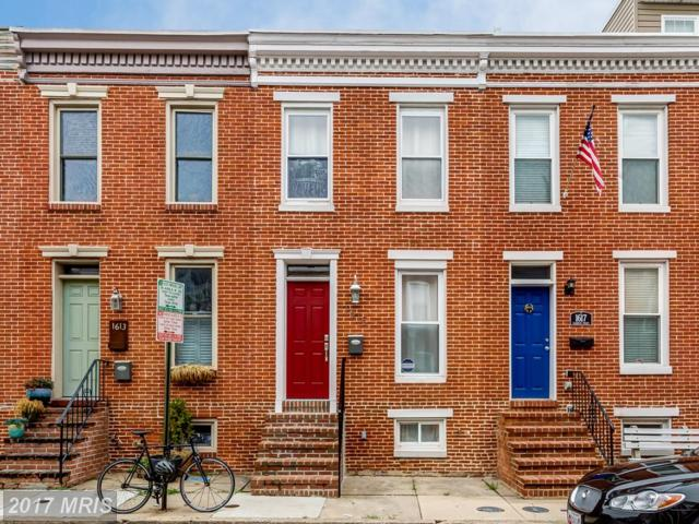 1615 Clarkson Street, Baltimore, MD 21230 (#BA10081461) :: LoCoMusings