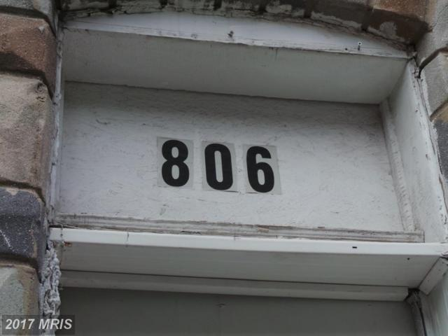 806 Port Street N, Baltimore, MD 21205 (#BA10081826) :: LoCoMusings