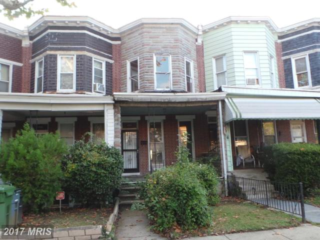 1310 Longwood Street N, Baltimore, MD 21216 (#BA10082903) :: LoCoMusings