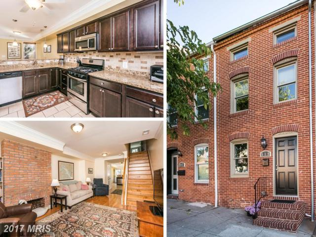 519 Chester Street S, Baltimore, MD 21231 (#BA10085634) :: The Dailey Group