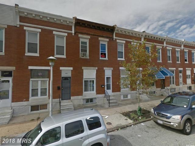 532 Linwood Avenue, Baltimore, MD 21205 (#BA10086719) :: Pearson Smith Realty