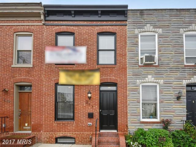 107 Fort Avenue E, Baltimore, MD 21230 (#BA10094619) :: SURE Sales Group