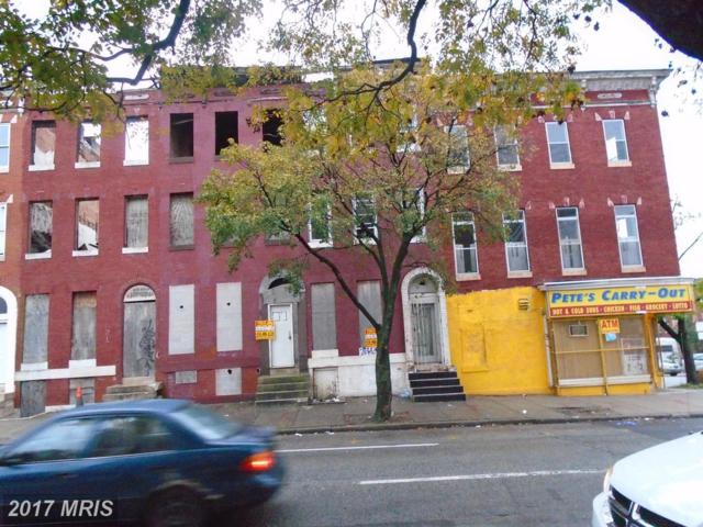25 Fulton Avenue, Baltimore, MD 21223 (#BA10100944) :: Pearson Smith Realty