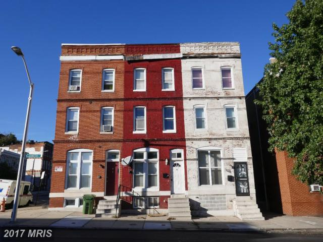 1626 Lexington Street, Baltimore, MD 21223 (#BA10105189) :: The Daniel Register Group