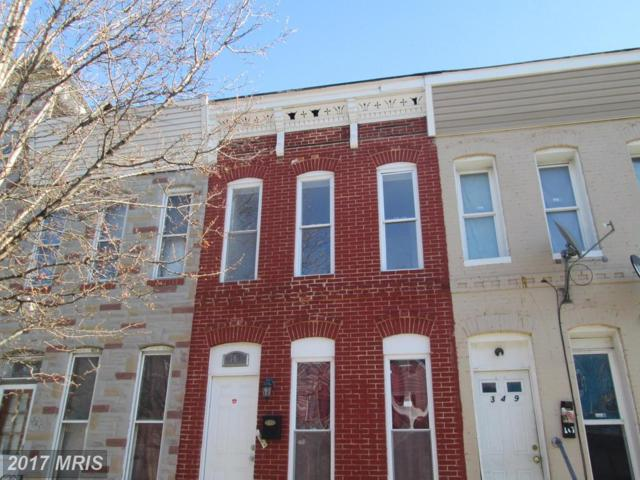 347 Stricker Street, Baltimore, MD 21223 (#BA10118904) :: Pearson Smith Realty