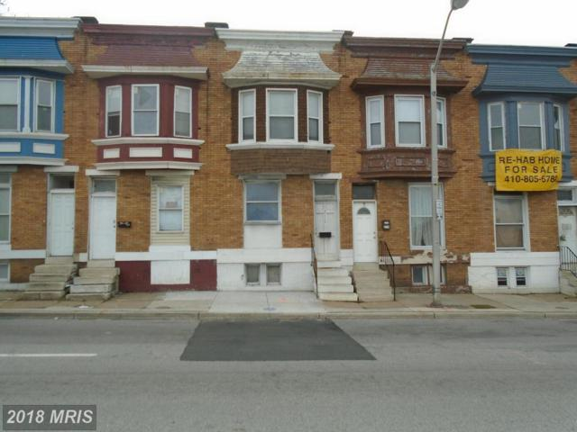 2117 Mulberry Street W, Baltimore, MD 21223 (#BA10127233) :: Pearson Smith Realty
