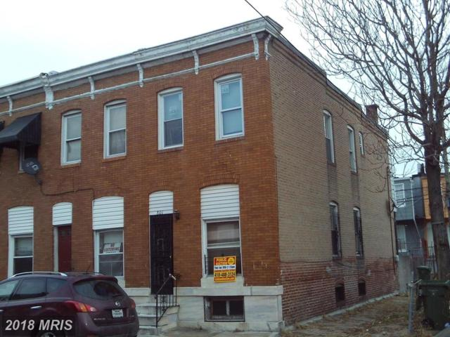 801 Belnord Avenue, Baltimore, MD 21205 (#BA10133060) :: Pearson Smith Realty