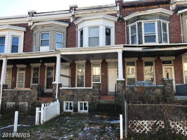 2805 Riggs Avenue, Baltimore, MD 21216 (#BA10133543) :: Pearson Smith Realty
