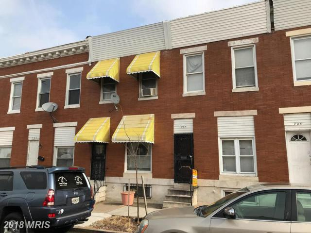 727 Linwood Avenue N, Baltimore, MD 21205 (#BA10135546) :: Pearson Smith Realty