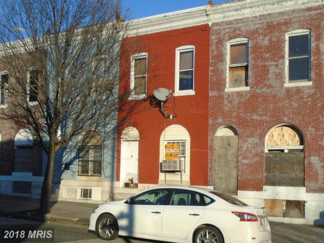 1231 Patterson Park Avenue N, Baltimore, MD 21213 (#BA10137170) :: Pearson Smith Realty