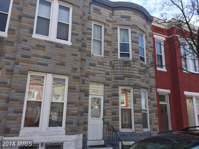 2115 Fayette Street W, Baltimore, MD 21223 (#BA10137781) :: Pearson Smith Realty